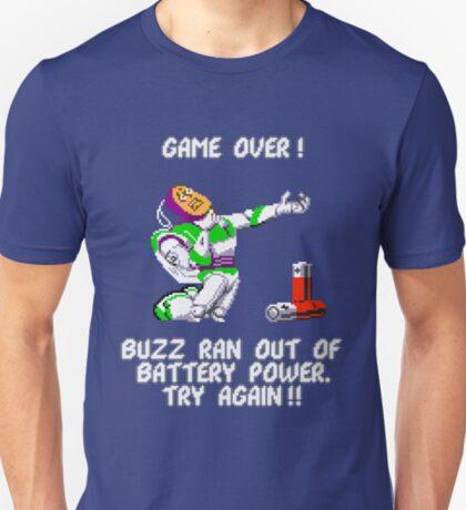 Buzz Ran Out of Battery Power T-Shirt
