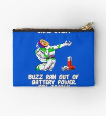Buzz Ran Out of Battery Power Studio Pouch
