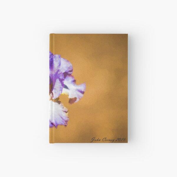 Purple Iris Hardcover Journal