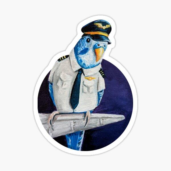 Pilotkeet Sticker