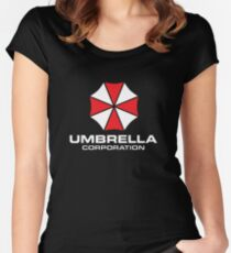 UMBRELLA CORPORATION Women's Fitted Scoop T-Shirt