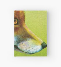 Portrait of a fox Hardcover Journal