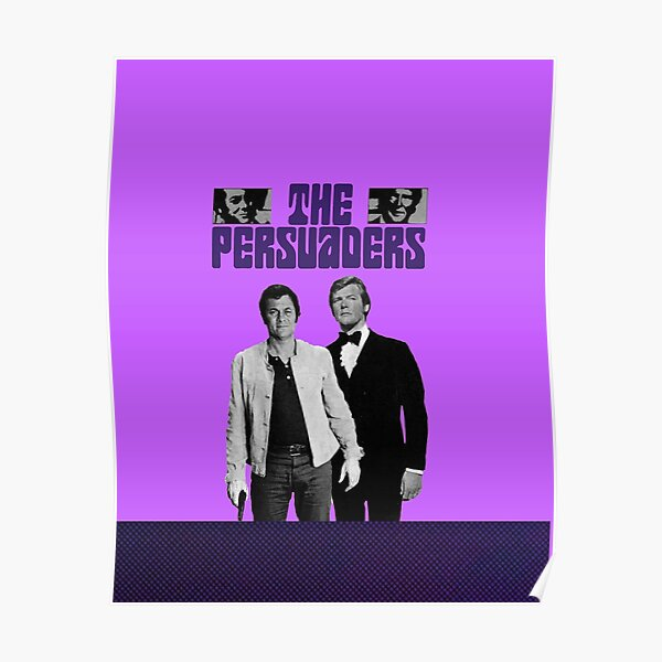 THE PERSUADERS 2 Poster
