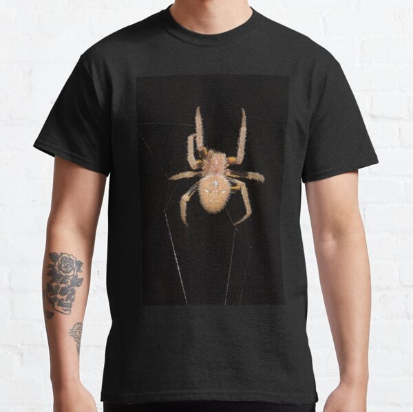Orb-weaving spider in the Peruvian rainforest Classic T-Shirt