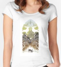 DA:I-Exalted Plains Women's Fitted Scoop T-Shirt