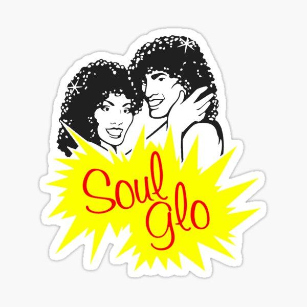 Soul Glo- Coming To America - Eddie Murphy - Soul Glo - McDowells Sticker