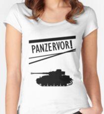 Panzervor! Women's Fitted Scoop T-Shirt