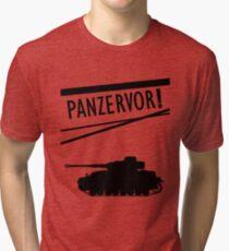 Panzervor! Tri-blend T-Shirt