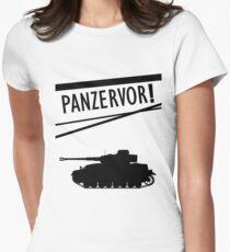 Panzervor! Women's Fitted T-Shirt