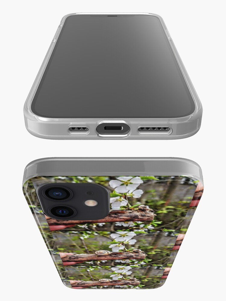 Alternate view of The garden snail (Helix aspersa)  By Yannis Lobaina  iPhone Case & Cover