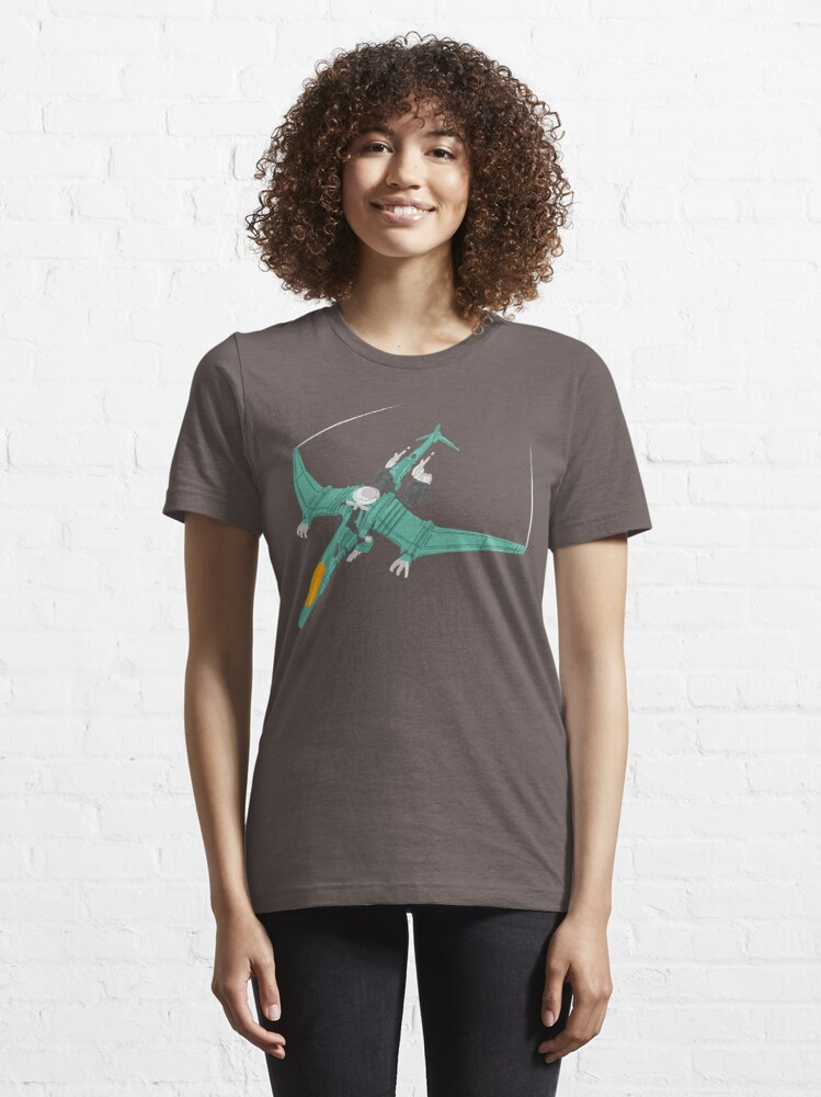 Alternate view of Teal Raynos Essential T-Shirt