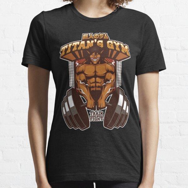 ATTACK ON TITAN SHIRT - TITAN'S GYM - EREN'S TITAN VER Essential T-Shirt