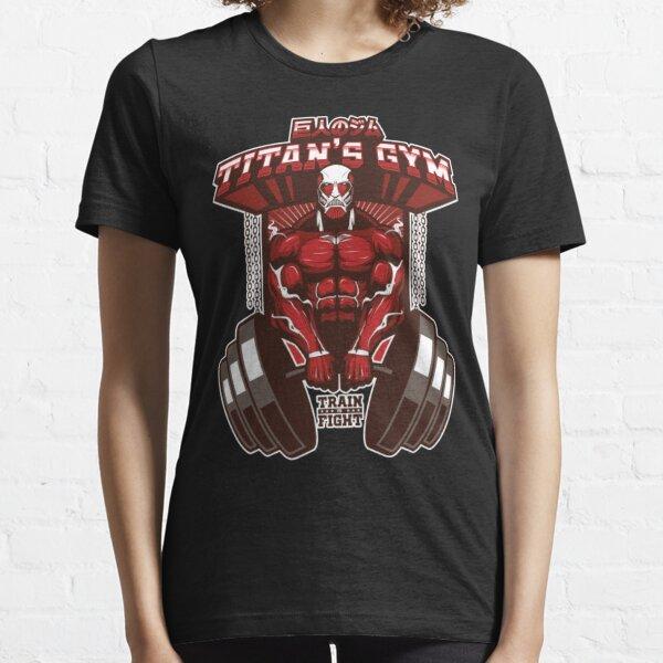 ATTACK ON TITAN SHIRT - Titan's Gym – colossal ver T-Shirt Essential T-Shirt