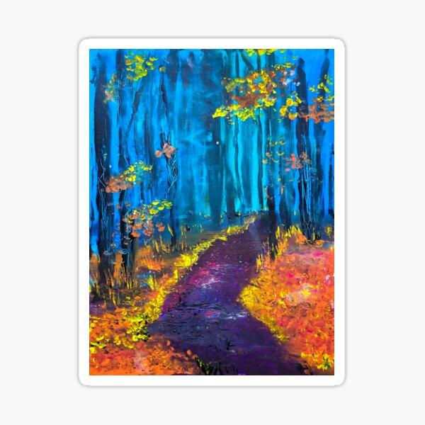 Golden Path Sticker