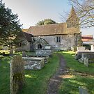 Church of St Peter  and St Mary, Wilmington, Sussex by Gary Gurr