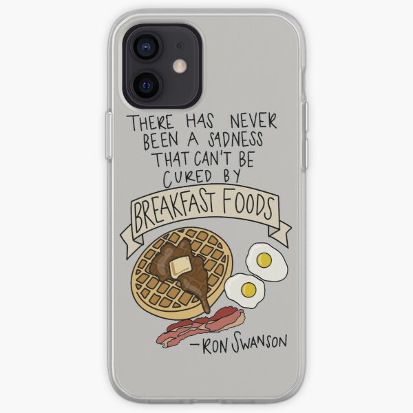 Breakfast Foods iPhone Soft Case
