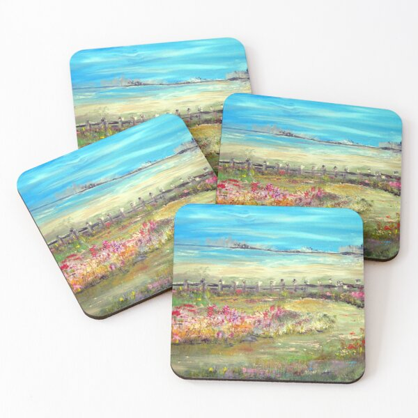 Meadow Bluffs Coasters (Set of 4)