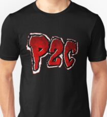 P2C - Red Black 'n White Logo T-Shirt