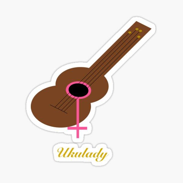 Ukulady Gear Sticker