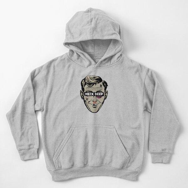 NEW hoody hooded sweatshirt Neck Deep /'Hazy Smile/' Pullover Hoodie