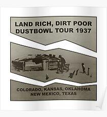 Dustbowl Tour 1937 Poster