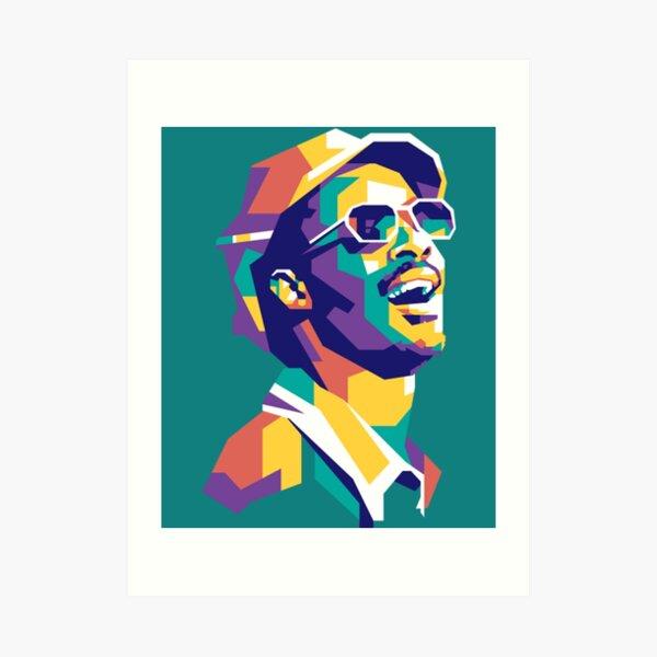 Stevie Wonder Stevie wonder Art Print