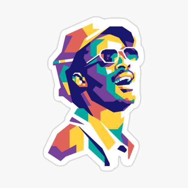 Stevie Wonder Stevie wonder Sticker