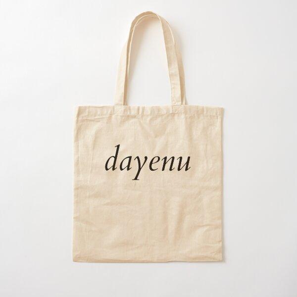 dayenu Cotton Tote Bag
