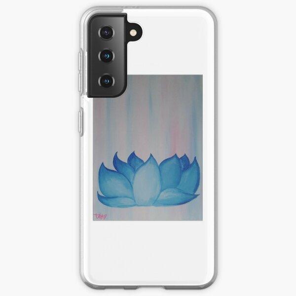 Egyptian Blue Lotus Samsung Galaxy Soft Case