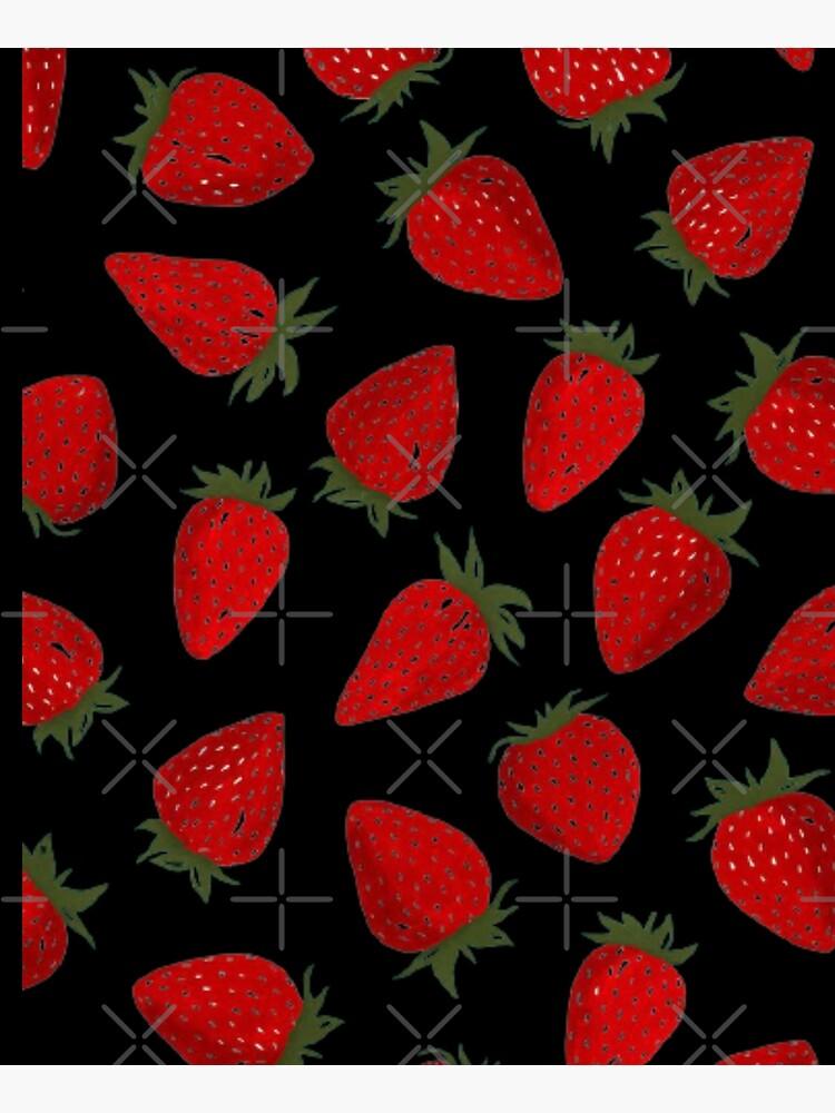 Strawberry pattern  by Wowcreats
