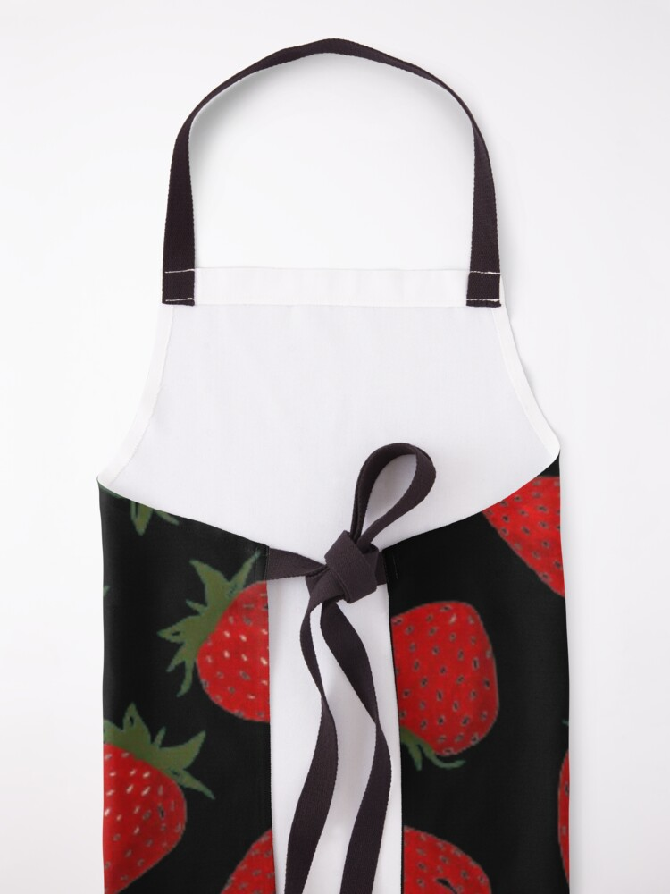 Alternate view of Strawberry pattern  Apron