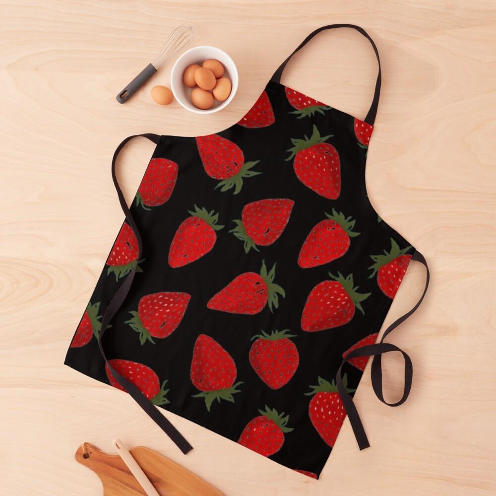 Strawberry pattern  Apron