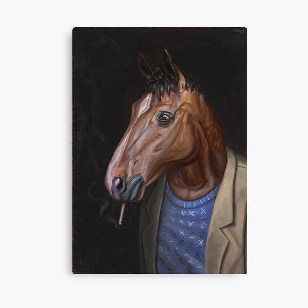Somber Horse Canvas Print