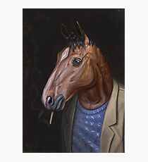 Somber Horse Photographic Print