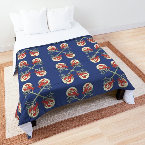 Lobster in the Night by Moti Comforter