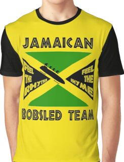 Jamaican Bobsled Team Graphic T-Shirt