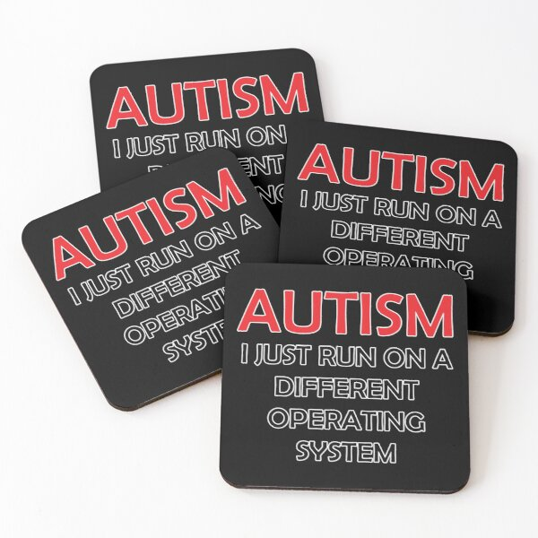 Different Operating System Coasters (Set of 4)