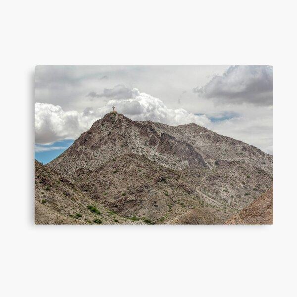 Mount Cristo Rey Metal Print