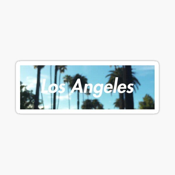palmiers de los angeles Sticker