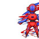 Deoxys Alien Pokémon von kijkopdeklok