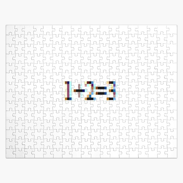 Arithmetic: One Plus Two Equals Three Jigsaw Puzzle