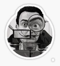 I AM DRUGS 1950 Sticker