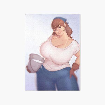 Dairy - The Very Best Milk... No Text Art Board Print