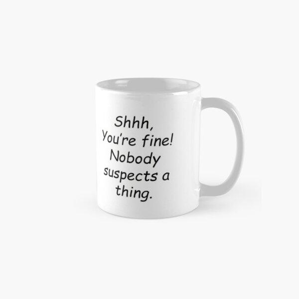 """""""I'm an author"""" Classic Mug"""