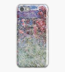 Claude Monet - The House In The Roses iPhone Case/Skin