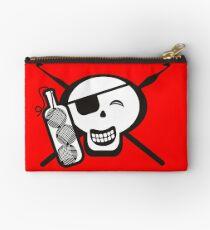Pirate skull yo ho ho bottle of yarn crochet hooks Studio Pouch