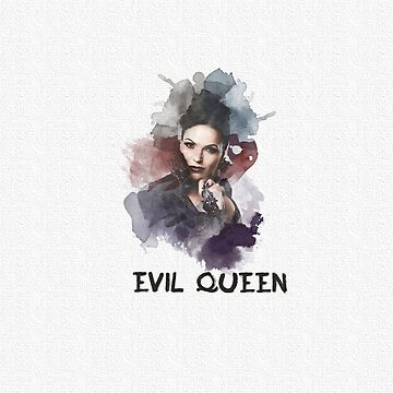 Evil Queen/Regina  - OUAT - Canvas by kirtash1
