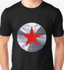 Winter Soldier Shield - Chrome  Unisex T-Shirt