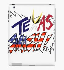 Texas Smash iPad Case/Skin