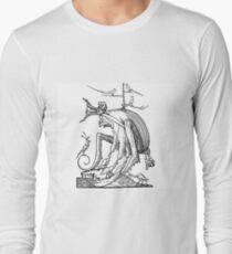 Droll Dreams of Pantagruel Plate 7 Long Sleeve T-Shirt